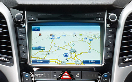 i30 Coupe Radio Navigationssystem