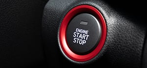 Hyundai KONA Iron Man Edition Start-Stop-Knopf