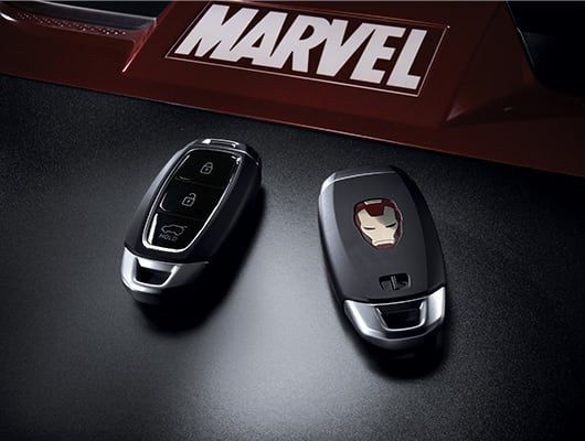 Hyundai KONA Iron Man Edition Smart Keys