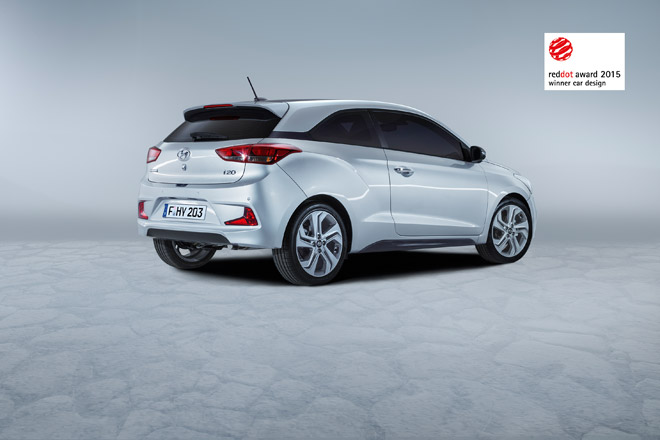 Red Dot Award - i20 Coupe