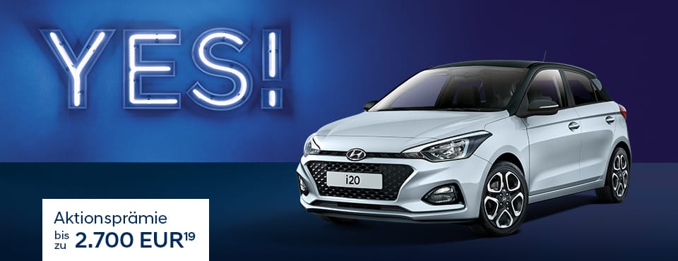 Hyundai i20 YES!