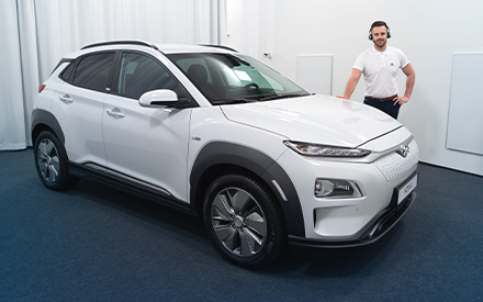Hyundai KONA Elektro im Virtual Showroom