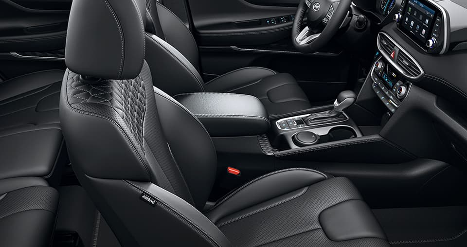 Santa Fe Interieur in schwarz