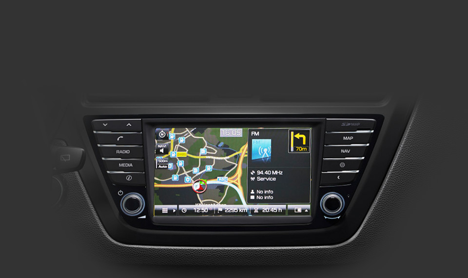 Radio-Navigationssystem mit TomTom® LIVE Service<sup>4</sup>