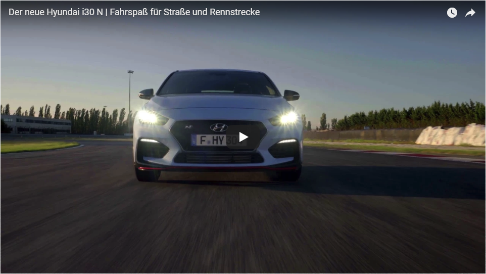 Der neue Hyundai i30 N Video